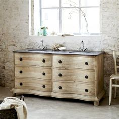 meuble vasque flamant
