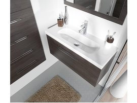 Meuble vasque gain de place for Gain de place salle de bain