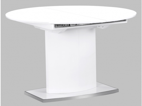 Table ronde extensible design crowdbuild for for Table a manger ronde extensible