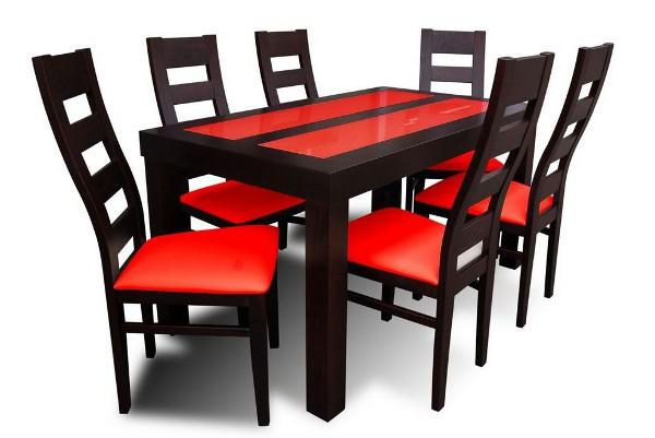 table a manger rouge en ligne