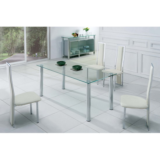 Table transparente images - Table a manger transparente ...