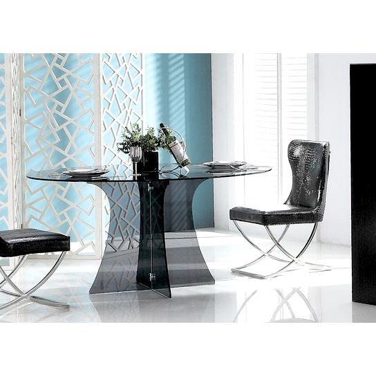 Table a manger transparente - Console transparente design ...