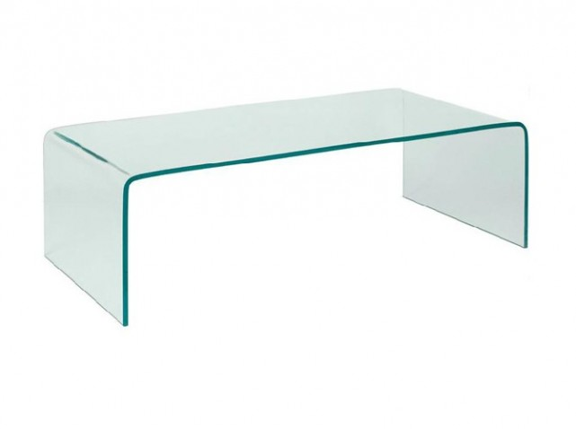 Table basse en verre conforama for Table de television en verre