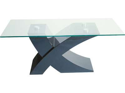 table tv en verre conforama - Table De Salle A Manger En Verre Conforama