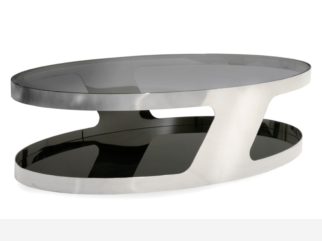 Table basse ovale conforama for Table de cuisine ovale