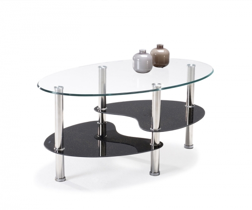 Table basse ovale conforama - Table de salon conforama en verre ...