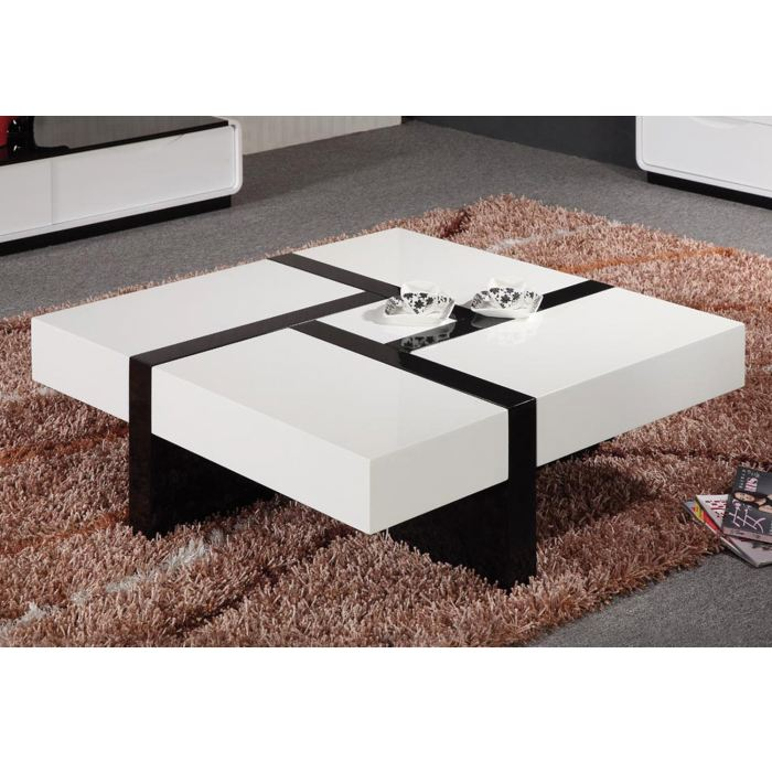 table basse quadra. Black Bedroom Furniture Sets. Home Design Ideas