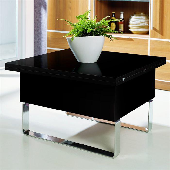 table de salon relevable pas cher table de lit. Black Bedroom Furniture Sets. Home Design Ideas