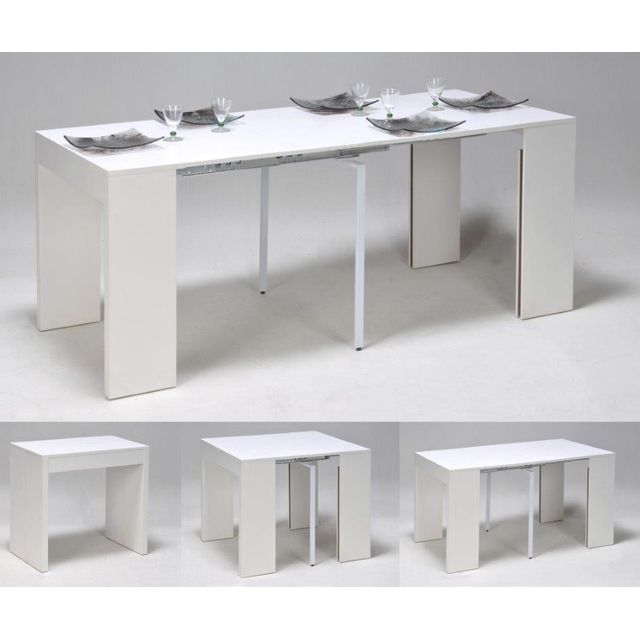Table console extensible zelda - Table haute bar extensible ...