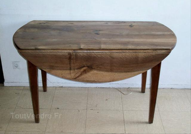 table console ovale