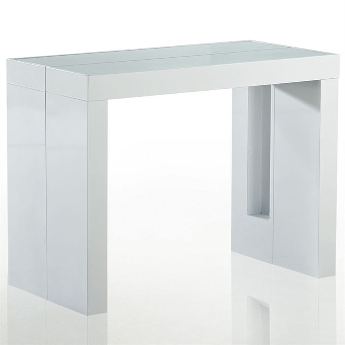 Table console retractable for Table salle a manger retractable