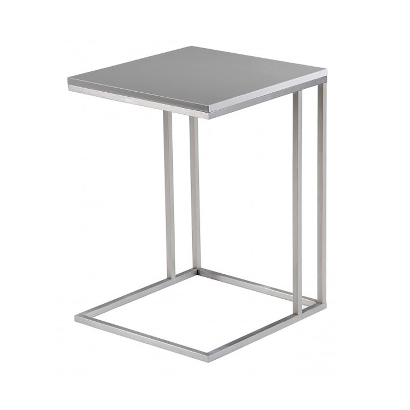 Table d 39 appoint inox - Table d appoint contemporaine ...