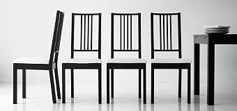 Salle A Manger Table Chaises Ikea Et rCoWBedx