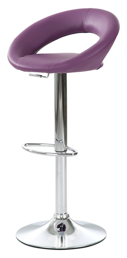tabouret de bar prune