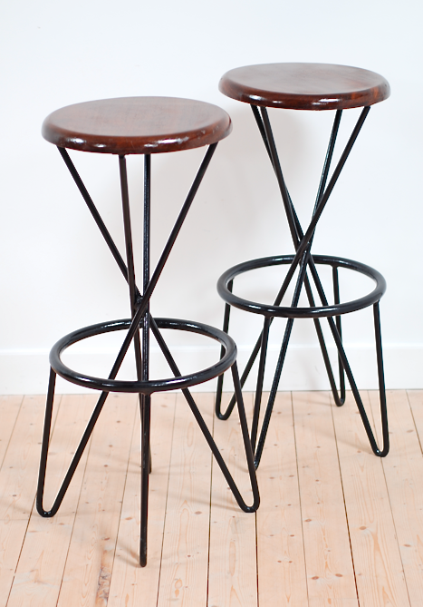 tabouret de bar vintage large size of tabouret de bar. Black Bedroom Furniture Sets. Home Design Ideas