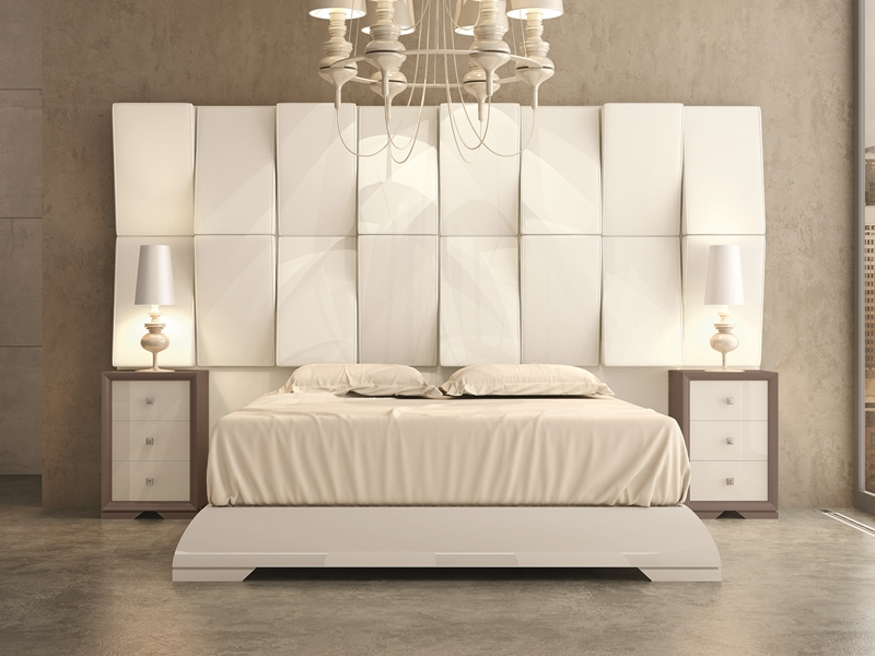 tete de lit haute. Black Bedroom Furniture Sets. Home Design Ideas