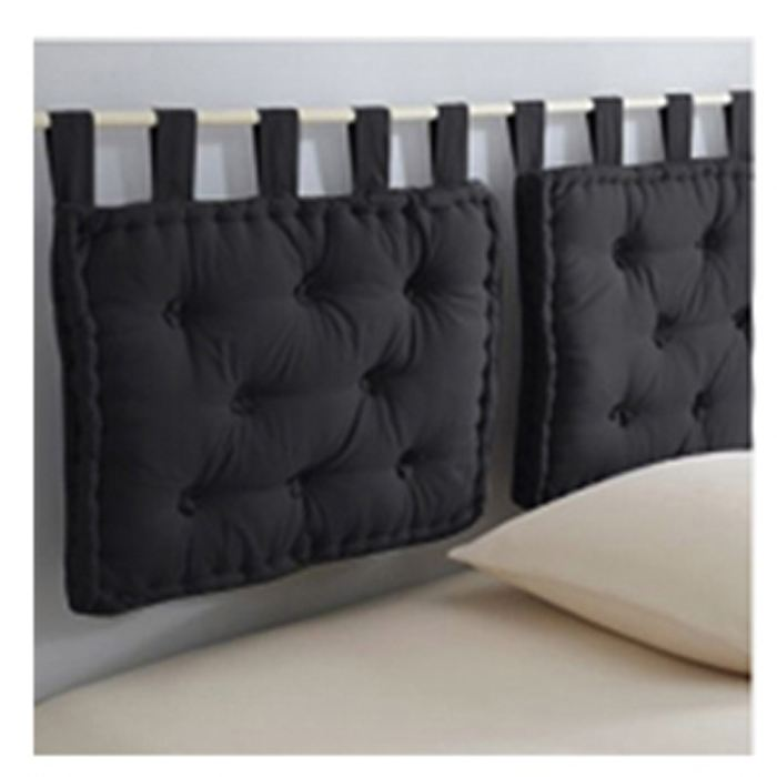 coussin pour tete de lit pas cher. Black Bedroom Furniture Sets. Home Design Ideas