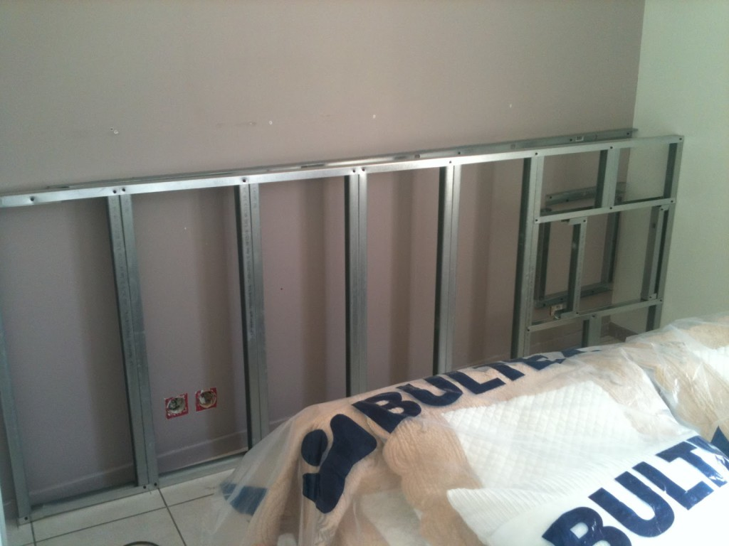 Tete de lit placo - Tete de lit avec niche ...