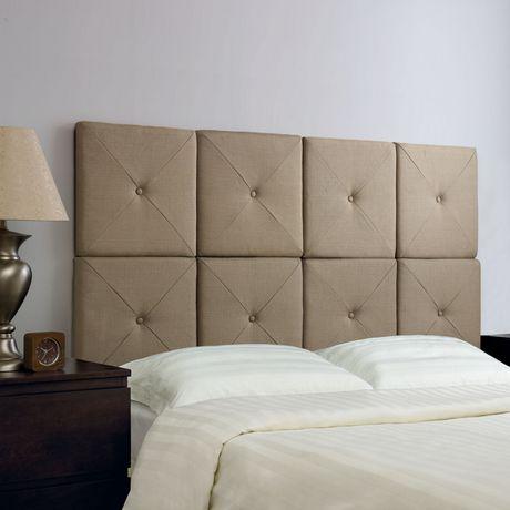 tete de lit walmart. Black Bedroom Furniture Sets. Home Design Ideas