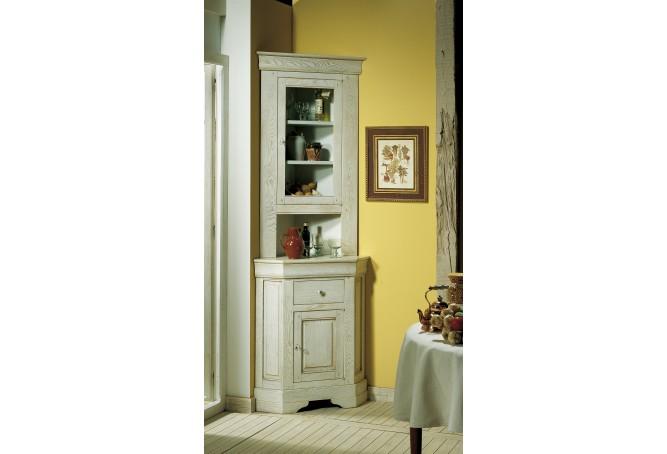 vaisselier d 39 angle contemporain. Black Bedroom Furniture Sets. Home Design Ideas