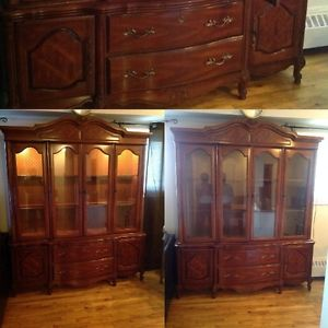 Vaisselier kijiji quebec for Meuble antique kijiji
