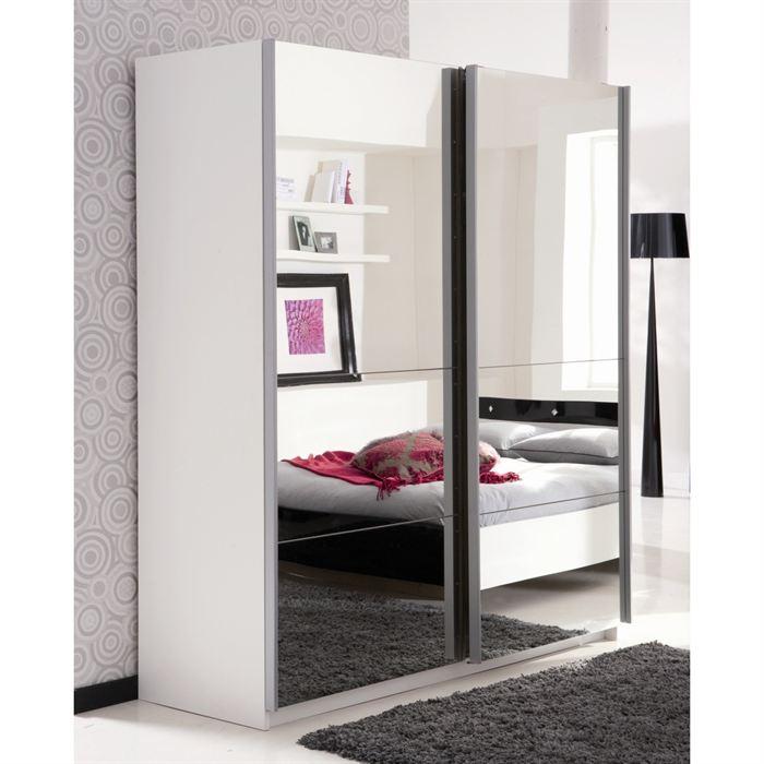 Armoire de chambre avec miroir - Meuble armoire chambre ...