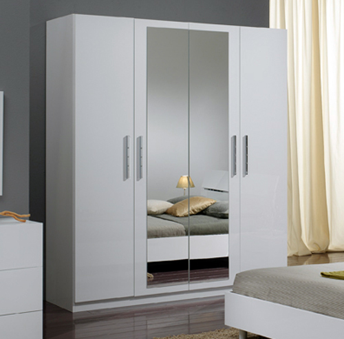 armoire de chambre blanc. Black Bedroom Furniture Sets. Home Design Ideas