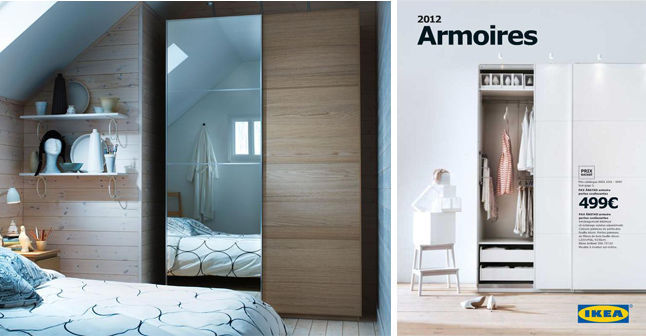 armoire de chambre chez ikea. Black Bedroom Furniture Sets. Home Design Ideas