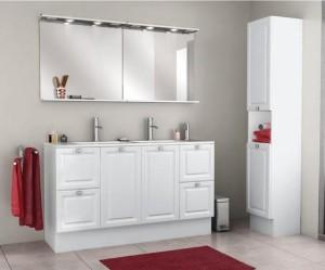 armoire salle de bain brico