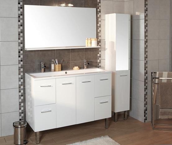 exemple armoire salle de bain brico depot