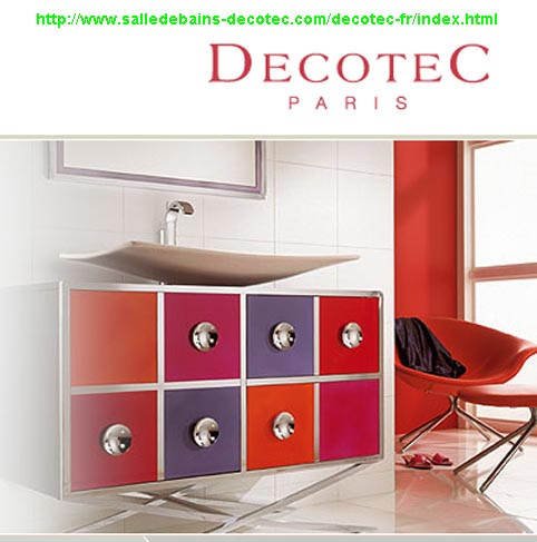 armoire salle de bain decotec. Black Bedroom Furniture Sets. Home Design Ideas