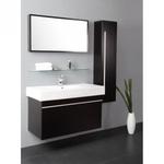 armoire salle de bain wenge