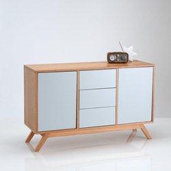 buffet bas la redoute. Black Bedroom Furniture Sets. Home Design Ideas