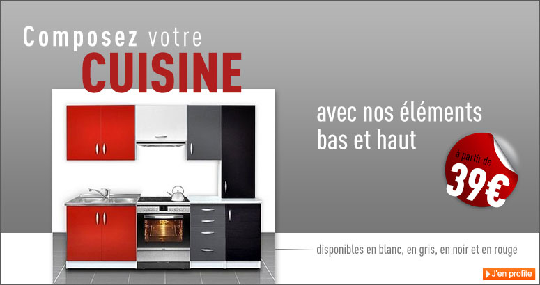 Great element de cuisine independant pas cher pas with for Element haut de cuisine pas cher