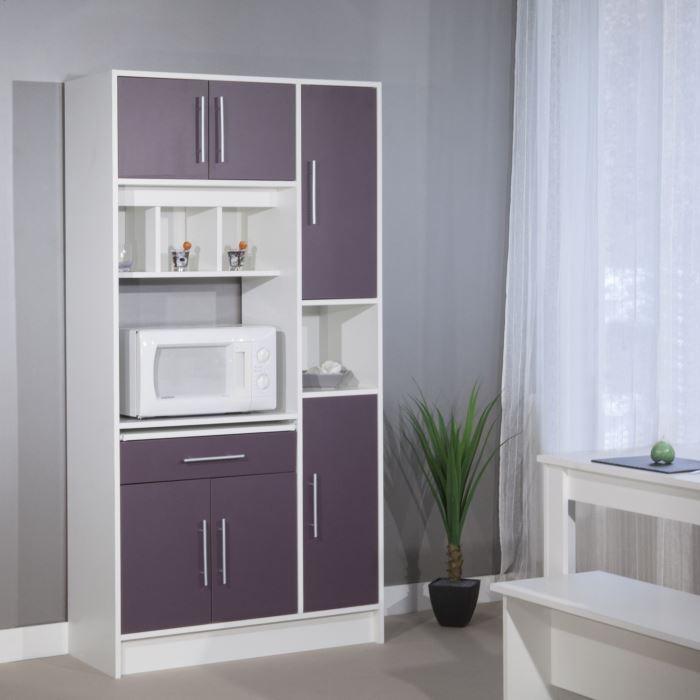 exemple buffet de cuisine violet - Meuble Cuisine Violet