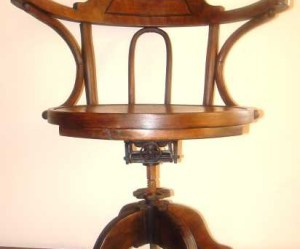 chaise de bureau anglais