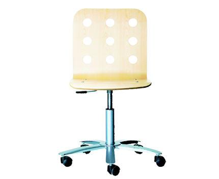 chaise de bureau jules. Black Bedroom Furniture Sets. Home Design Ideas