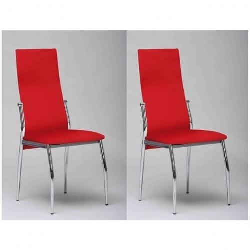 Chaise cuisine rouge pr l vement d 39 chantillons et une bon - Chaise cuisine rouge ...