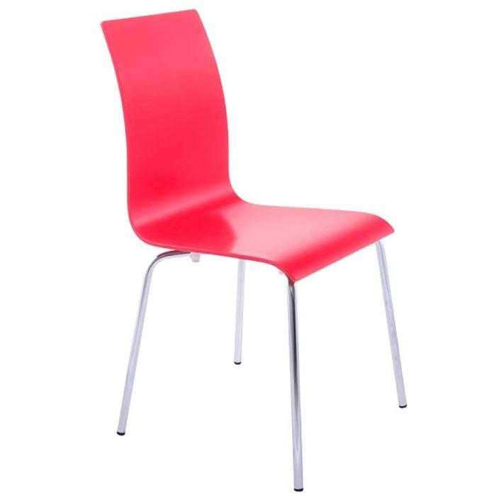 Chaise de cuisine rouge - Chaise cuisine rouge ...