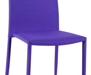chaise de cuisine violet