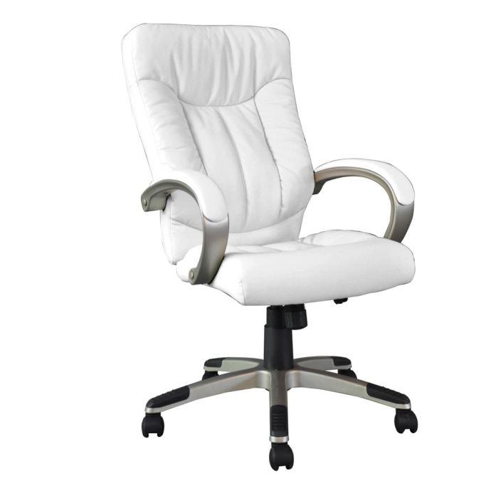 fauteuil de bureau blanc pas cher - le coin gamer - Chaise De Bureau Blanche Design