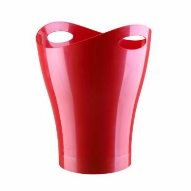 HELIT H2360220 : Corbeille à papier rouge 13 litres ARC Registres