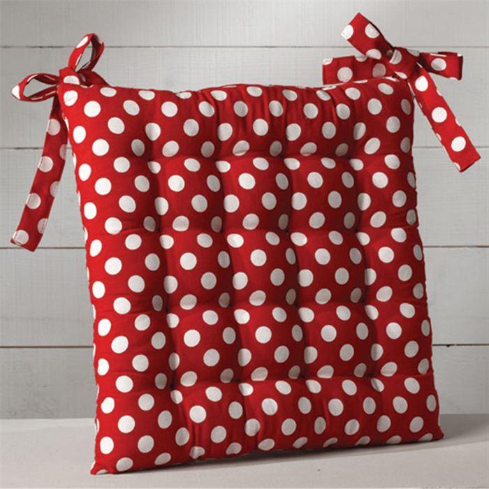 dessus de chaise rouge interesting galette de chaise en coton rouge motifs aztques xcm with. Black Bedroom Furniture Sets. Home Design Ideas