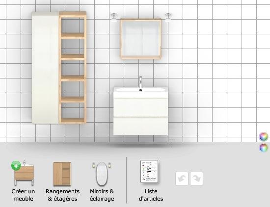 meuble bas de salle de bain ikea. Black Bedroom Furniture Sets. Home Design Ideas