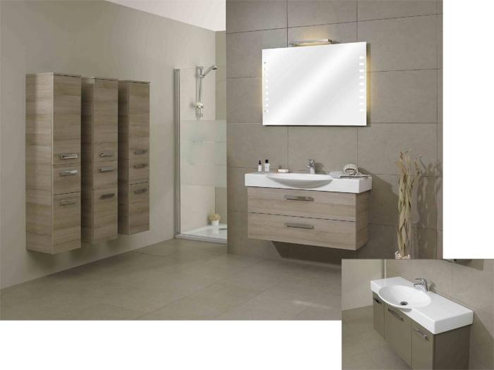 meuble bas salle de bain schmidt
