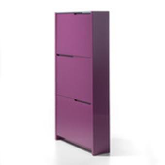 meuble chaussures violet. Black Bedroom Furniture Sets. Home Design Ideas