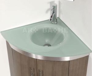 meuble d'angle avec vasque