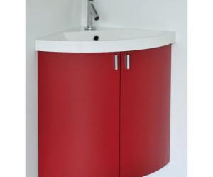 meuble d'angle pour vasque wc