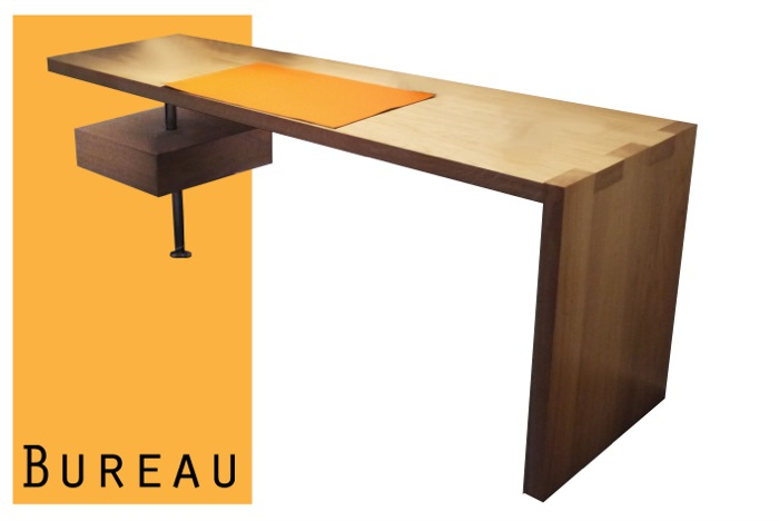 Meuble de bureau habitat for Meuble bureau 76