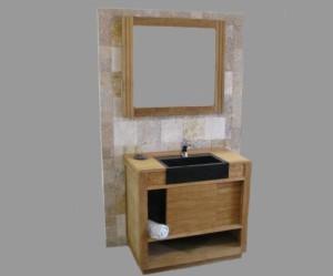 meuble haut salle de bain porte coulissante